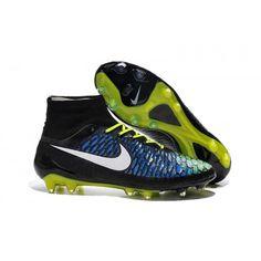 Nike Magista - Nike Magista Obra FG Met ACC Blauw Zwart Groen