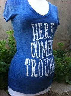 Cowgirl Clad Company - Here Comes Trouble Blue , $36.00 (http://www.cowgirlclad.com/here-comes-trouble-blue/)