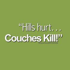 Couches kill...