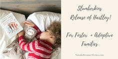 Slumberkins Release of Hartley! For Foster  + Adoptive Families