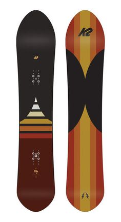 The K2 Eighty Seven takes a surf inspired viewpoint to any terrain. The Eighty Seven is created by adding Volume Shift to K2s All Terrain shape with Camber Baseline. The result is surfy and maneuverable feeling as you sail through the powder and float through the trees. #surfing #snowboarding #snowboard #k2