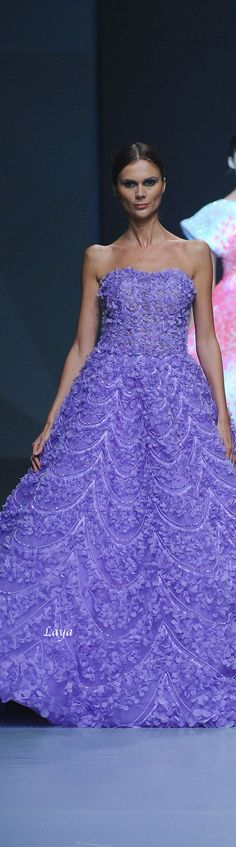 MICHAEL CINCO Spring-Summer 2015 Ready-to-wear. V love for purple forever