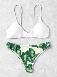 Shop Jungle Print Beach Bikini Set online. SheIn offers Jungle Print Beach Bikini Set & more to fit your fashionable needs.