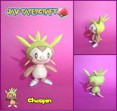 Pokemon Chespin Papercraft