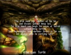 The Lion Turtle's words♥