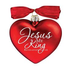 This Christmas, give your friend or loved one a gift that they will cherish with this Jesus Christmas Ornament from LCP! This red hand-blown glass heart measures 3 inches and features a scripture Christmas Jesus, Christmas Hearts, Christian Christmas, Christmas Quotes, Glass Christmas Ornaments, Red Christmas, Christmas Bulbs, Christmas Decorations, Xmas