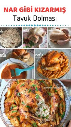 Stuffed Chicken with Pomegranate - Delicious Recipes - # 3189527 Meat Recipes, Chicken Recipes, Cooking Recipes, Turkish Recipes, Italian Recipes, Pomegranate Recipes, Good Food, Yummy Food, Delicious Recipes