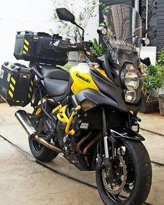 Kawasaki Motorcycles, Cool Motorcycles, Bmw Motorbikes, Er6n, Versys 650, Ktm Exc, Enduro Motorcycle, Biker Gear, Touring Bike