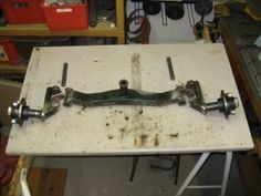 Gilson front axle upgrade_3