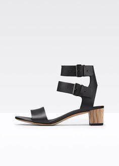 Ria Leather City Sandal