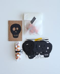 mini halloween party in an envelope {lovely indeed}