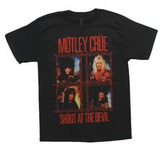 Are you a Motley Crue Fan?   http://www.t-shirts.com/motley-crue-shout-wire-tshirt.html