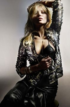What I want most from Kate Moss for Topshop's collection: Sequin Embellished Mesh Jacket | Nordstrom