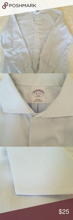 Brooks Brothers 346 slim fit dress shirt Men's used dress shirt, always dry cleaned Brooks Brothers Shirts Dress Shirts