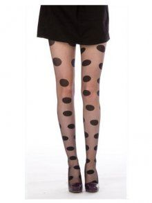 Pamela Mann Oversized Spot Tights at Tightsplease £6.98