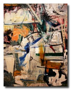 alongtimealone:  Metropolitan Museum #30 William de Kooning -...
