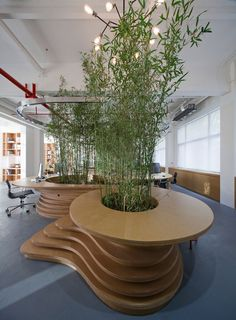 Foliage-Covered Offices : JW Associates