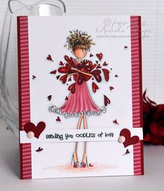 Sending You Oodles of Love | Paper Cuts by Michele Boyer | Bloglovin'