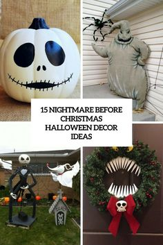 Nightmare Before Christmas Decorations | Nightmare before ...