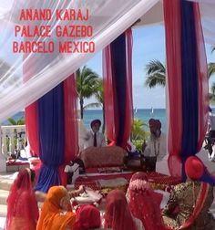 Palace Gazebo sikh wedding