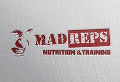 Mad Reps Protein Bar Logo created by Jibari Daniels of JDaniels Designs for more work visit my portfolios www.jdanielsdesigns.com or www.jdanielswebdesigns.com