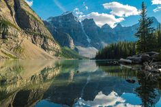 Ready to experience the great outdoors with an adventure to the Rockies and Western Canada? Enjoy sightseeing in Victoria, view stunning Lake Louise or. Mountain Images, Mountain Pictures, Canada Mountains, Vacation Images, Summer Reading Lists, Cool Books, Before Us, Banff, Image Hd