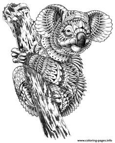 Print adults difficult animals sheet online coloring pages