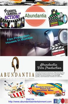 #Abundantia  #FilmProductionCompany with presence in Crouching Tiger Motion Pictures,aiming at giving high-quality entertainment content to viewers.