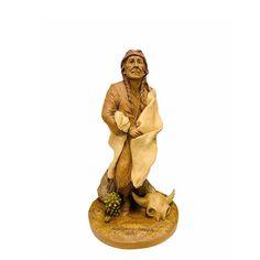 Figure American Indian Tom Clark