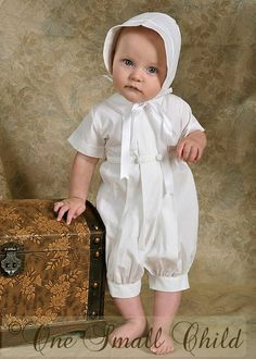 Benjamin Christening Outfit