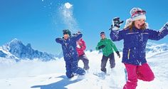 #Win a week's family ski holiday in Val d'Isère!