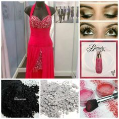 Perfect prom make-up to match your dresses! See our entire line on my website: www.youniqueproducts.com/girliegirlmakeup #prommakeup #promperfect #younique