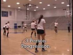 Volleyball: Pepper Progressions (2-3 persons)