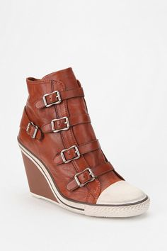 Urban Outfitters - Ash Thelma Wedge Sneaker- a hoodie with heels?