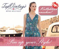 Pinup-Fashion.de - Pinup Mode, Vintage und Rockabilly Kleider