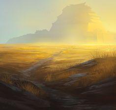 The Golden Plains by noahbradley.deviantart.com on @deviantART