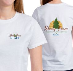 Shady Pines Retirement Home Staff Tee