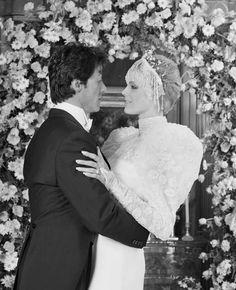Robes de mariée de stars : VINTAGE ! Sylvester Stallone et Brigitte Nielsen en…