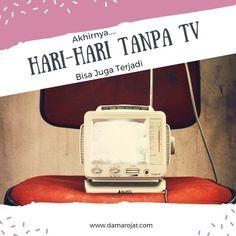 Meniadakan TV di rumah.  #notv #tv #television Parenting, Tv, Blog, Television Set, Blogging, Childcare, Television, Natural Parenting