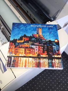 Azon tasotulostimella tulostettuja tuotteita  Azonin pääkonttorilla Zagrebissa toukokuussa 2014.