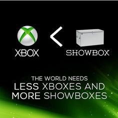 The world needs less xboxs and more showboxes! All credit for this image goes to DRIVE magazine