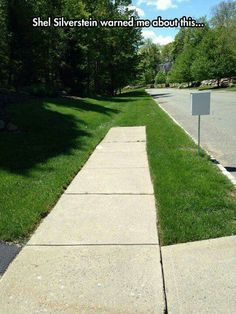 What happens next ... I know because of Shel Silverstein