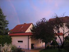 Regenbogen Celestial, Sunset, Outdoor, Paradise, Rain Bow, Garten, Outdoors, Sunsets, Outdoor Games