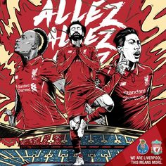 Video: barcelona beware as liverpool amazing trio sets record in the thrashing of porto Liverpool Fc, Liverpool Football Club, Champions League, Mo Salah, Sport Body, Best Fan, Healthy People 2020 Goals, Sport Quotes, Rotterdam