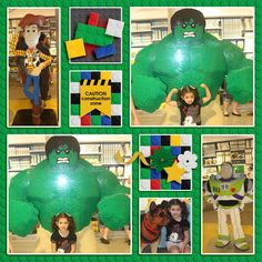 Lego Store Downtown Disney > Digital scrapbook layout by Holly using Play Well - Melidy Designs