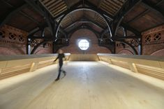 Image 11 of 28 from gallery of Ashton Old Baths / Modern City Architecture & Urbanism. Photograph by James Maddox Architecture Office, Sustainable Architecture, Architecture Design, Adaptive Reuse, Listed Building, English Heritage, Modern City, Swimming Pools, Villa