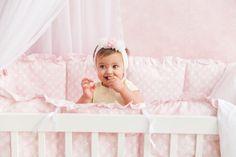 Fidera Pink Girl bedding Pink Crib Bedding Baby Girl