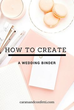 """Once you've said """"Yes"""" and had your time to celebrate your engagement, the wedding planning begins. The first step every bride-to-be should take is creating a wedding planning and inspiration folder (or Pinterest Board) to stay organized. You can do a lot on your computer (you will learn to love spreadsheets) but wedding planning produces a lot of paper which you will need to keep organized. Click here to learn how to DIY your wedding binder.