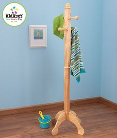 Deluxe Clothes Pole - Natural (19257)