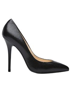 I tried these on and they're the perfect black heel. perfect.
